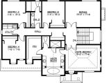 Home Plans for Large Families Large Family Home Plan with Options 23418jd 2nd Floor