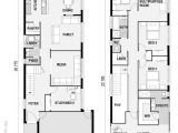 Home Plans for Narrow Lot 1000 Ideas About Narrow House Plans On Pinterest Duplex