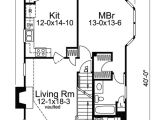 Home Plans for Small Lots Country Appeal for A Small Lot 57027ha 1st Floor
