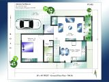 Home Plans forx40 Site north Facing House Plans 30 40