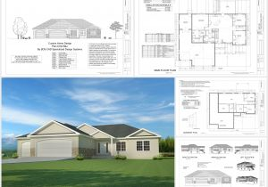 Home Plans Free Download This Weeks Free House Plan H194 1668 Sq Ft 3 Bdm