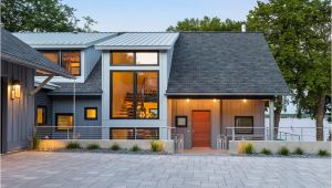Home Plans Minnesota Contemporary Lake House In Minnesota Encourages Fun