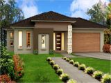 Home Plans One Story Modern One Storey House