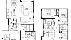 Home Plans Perth Sample Floor Plans 2 Story Home Unique Double Storey 4