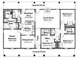 Home Plans Single Story Single Story 4 Bedroom House Plans Houz Buzz