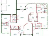Home Plans Single Story Traditional Ranch House Plan Single Level One Story Ranch