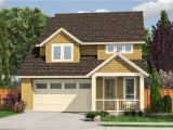 Home Plans Small House Plan with Garage Below