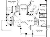 Home Plans Two Master Suites One Story Home Plans with Two Master Suites