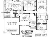 Home Plans with 2 Master Suites On First Floor Alexandria House Plan House Plans by Garrell associates