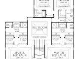 Home Plans with 2 Master Suites One Level House Plans with Two Master Suites Arts Bedroom