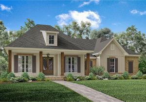 Home Plans with 3 Bedrm 1900 Sq Ft Acadian House Plan 142 1163