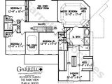 Home Plans with A View to the Rear Rear View Home Plans House Design Plans