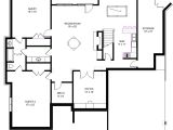 Home Plans with Basement Floor Plans Ranch House Basement Floor Plans House Design Plans