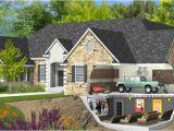 Home Plans with Basement Garage Basement Entry Garage House Plans