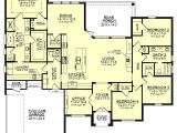 Home Plans with Big Kitchens European Style House Plan 4 Beds 2 50 Baths 2506 Sq Ft