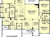 Home Plans with Bonus Room One Story House Plans Bonus Room Cottage House Plans