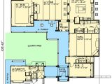 Home Plans with Casitas Casita and Courtyard Classic 36812jg Architectural