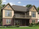 Home Plans with Finished Walkout Basement Craftsman House Plan with Finished Daylight Basement Dfd