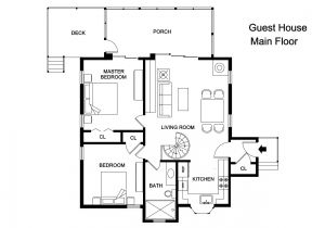 Home Plans with Guest Houses Adobe Guest House Plans Cottage House Plans
