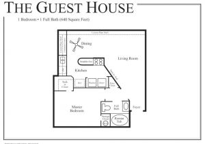 Home Plans with Guest Houses Backyard Pool Houses and Cabanas Small Guest House Floor