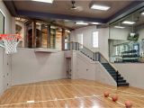 Home Plans with Indoor Sports Court Pleasing Indoor Basketball Court Home with Landscaping