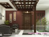 Home Plans with Interior Photos Beautiful Home Interior Designs by Green Arch Kerala