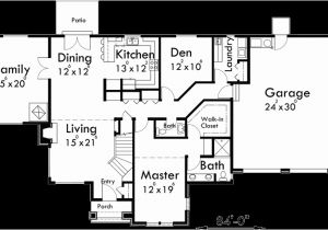 Home Plans with Master Bedroom On Main Floor Tudor House Plan Master Bedroom On Main Floor House