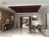 Home Plans with Photos Of Interior 3d Rendering Concept Of Interior Designs Kerala Home