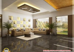 Home Plans with Pictures Of Interior Beautiful 3d Interior Office Designs Kerala Home Design