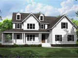 Home Plans with Porches 4 Bed Country House Plan with L Shaped Porch 500008vv