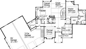 Home Plans with Rv Garage attached House Plans with Rv Garage Smalltowndjs Com