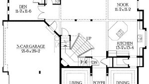 Home Plans with Side Entry Garage Narrow House Plans with Side Entry Garage Cottage House