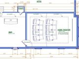 Home Plans with theater Room Home theater Room Floor Plan House Design Plans