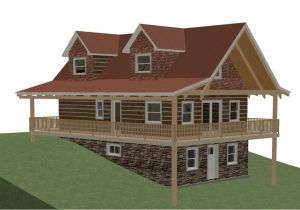 Home Plans with Walkout Basements Hillside House Plans with Walkout Basement New House Plan