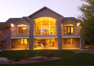 Home Plans with Walkout Basements Walkout Basement House Plans Stinson S Gables Oke