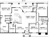 Home Plans without Garages Adobe southwestern Style House Plan 4 Beds 3 00 Baths