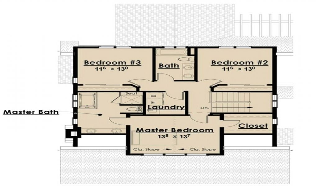 Home Plans Without Garages Single Story Open Floor Plans Bungalow