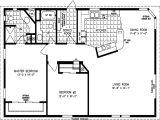 Home Plans00 Sq Ft 1200 Square Feet Open Floor Plans
