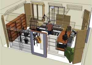 Home Recording Studio Design Plans Image