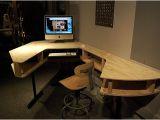 Home Recording Studio Desk Plans Studio Desk Building Hushed61syhan