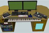 Home Recording Studio Desk Plans Woodwork Home Studio Desk Plans Pdf Plans