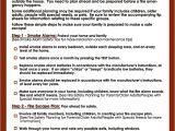 Home Safety Plan Esfi Fire Safety Planning Checklist