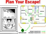 Home Safety Plan Home Fire Safety Plan Template House Design Plans