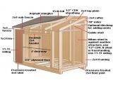 Home Shed Plans Modern Shed Plans 10 12