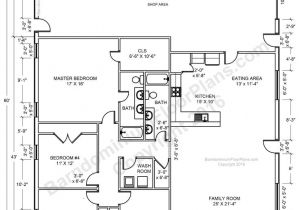 Home Shop Floor Plans Barndominium House Plans 40×50 House Floor Plans 40×60