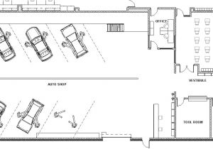 Home Shop Floor Plans Mechanic Shop Floor Plans Home Deco Plans