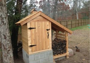 Home Smokehouse Plans Como Construir Una Caseta Para Ahumar Alimentos La