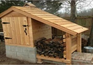 Home Smokehouse Plans Diy Cedar Smokehouse