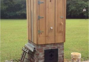 Home Smokehouse Plans How to Build A Timber Smoker Diy Projects for Everyone