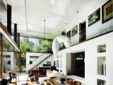 Home Space Planning Modern Dream House Design with Wonderful Garden Views the